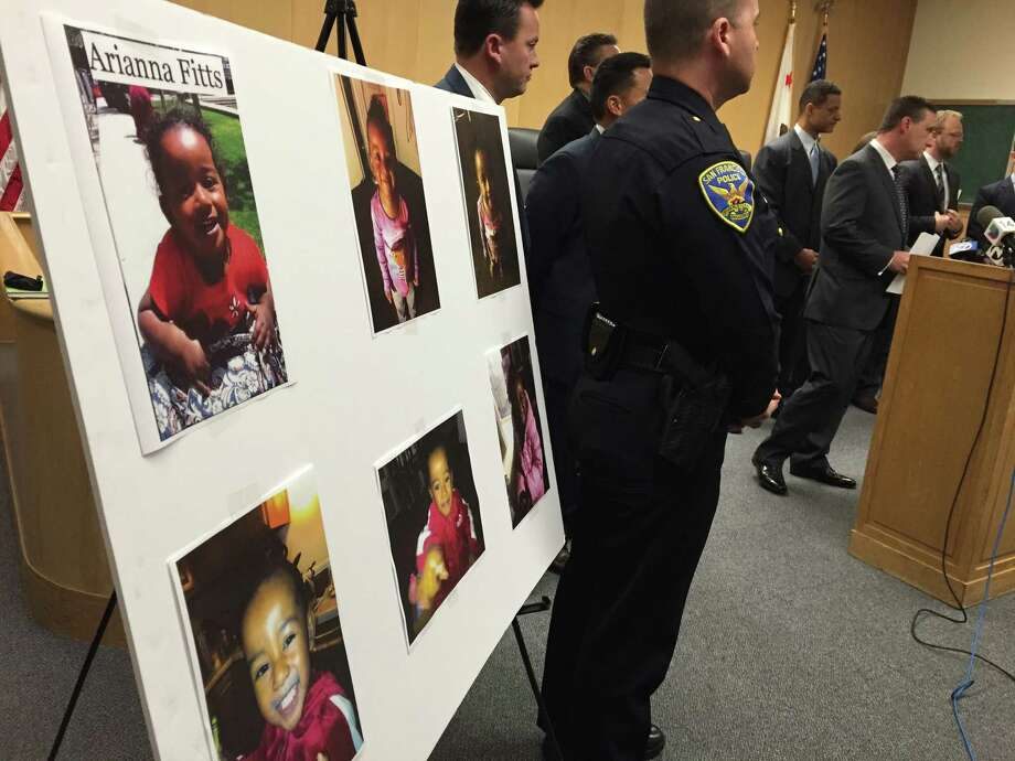 San Francisco homicide detectives released new details Thursday in the slaying of Nicole Fitts, 32, and the disappearance of her 2-year-old daughter, Arianna. Photo: Steve Rubenstein / The Chronicle / /