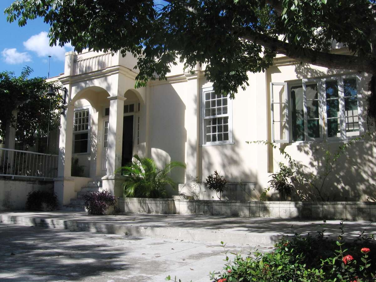 """Ernest Hemingway's stucco Cuban home, Finca Vigia, is where the great writer lived primarily from 1939 to 1960. """"It's nothing grand or spectacular,"""" said UTSA architect William Dupont, who has spent 11 years on its restoration, """"but it's lovely. And very comfortable."""""""