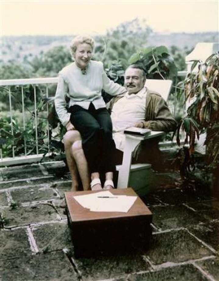 Ernest Hemingway and his wife Mary at Finca Vigia, his house in Havana, in 1948. Photo: /Courtesy Photo