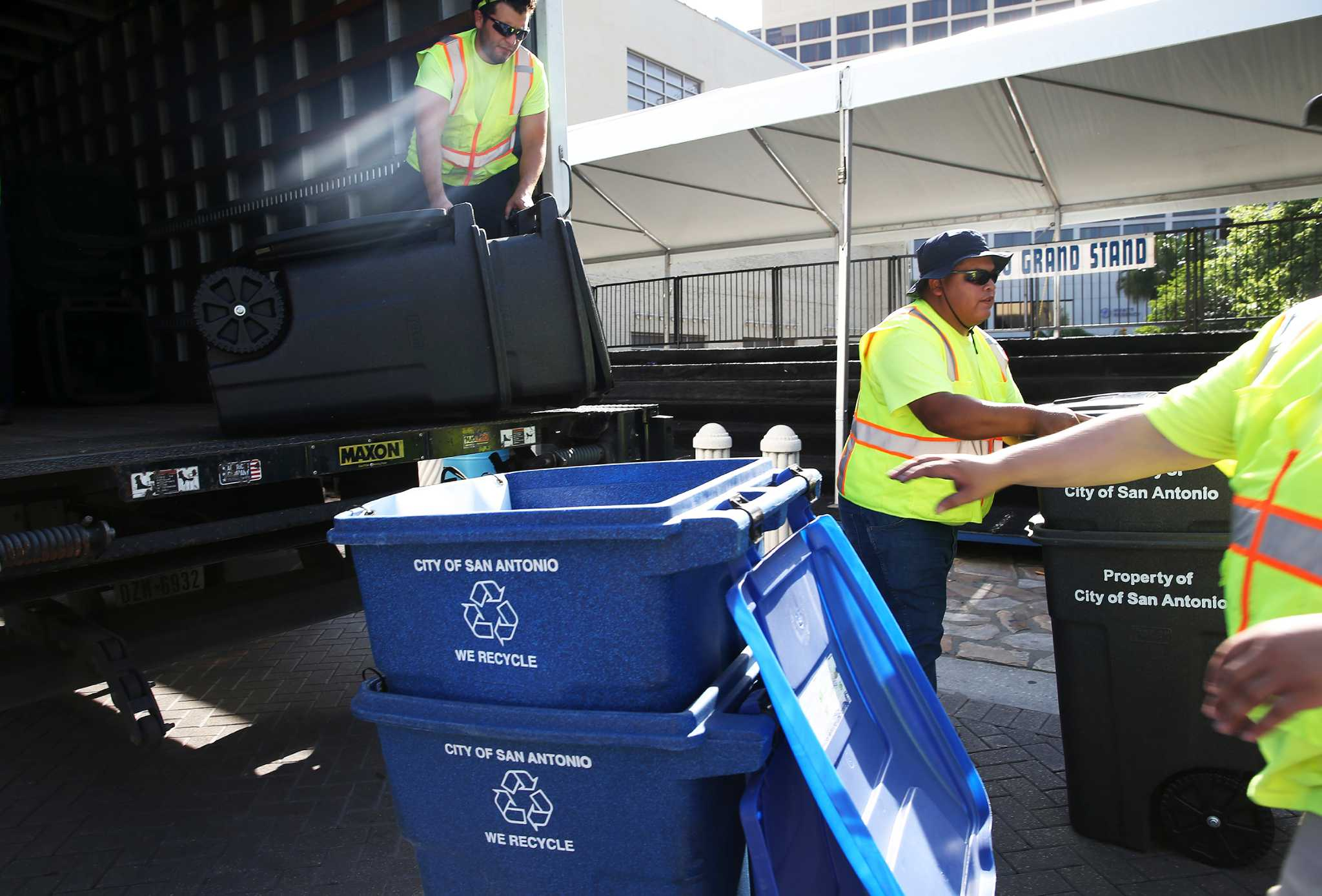 City Trash Found In Recycling Bin Will Result In A 25