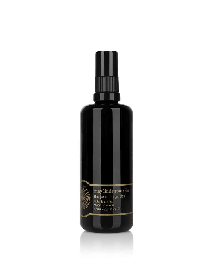 May Lindstrom�s website promises a few spritzes of the Jasmine Garden Botanical Mist will transport you to �a garden of lush flowers in the tropics, somewhere near a field of cocoa beans drenched in rain.� An intoxicating blend of jasmine and rose combined with ylang-ylang, vanilla and cocoa oil, this mistsmells like a dream plus provides antioxidant protection and decreases redness and inflammation.  $60 (3.38 oz.), Laurel Studio, 1Gate Six Road, Suite D, Sausalito or www.maylindstrom.com.www.maylindstrom.com
