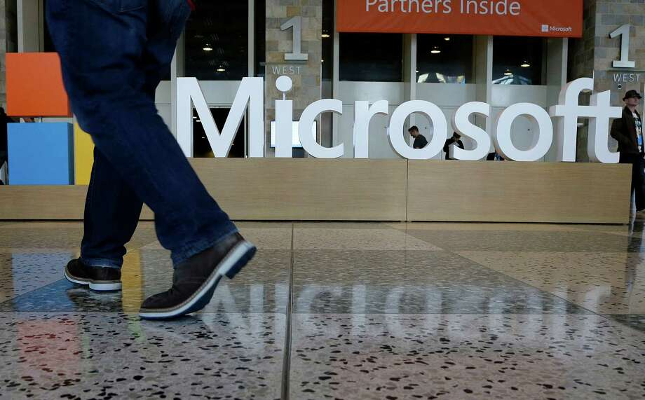 Microsoft, like some other industry stalwarts, has had some struggles with seismic shifts in the way people use technology.  Photo: Jeff Chiu, STF / Copyright 2016 The Associated Press. All rights reserved. This material may not be published, broadcast, rewritten or redistribu