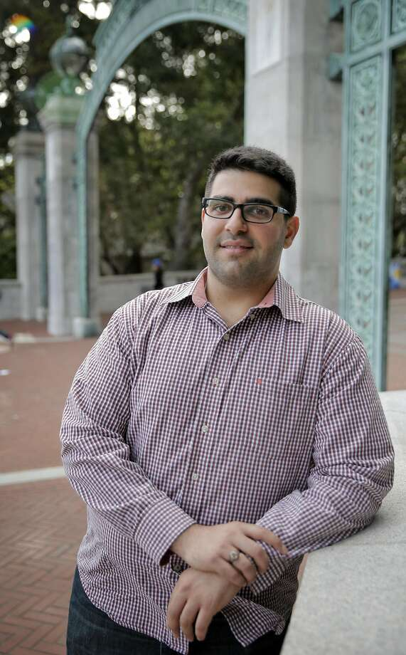 Khairuldeen Makhzoomi, a UC Berkeley student, was pulled off a plane after a fellow passenger claimed she heard him say words in Arabic connected to martyrdom. Photo: Carlos Avila Gonzalez, The Chronicle