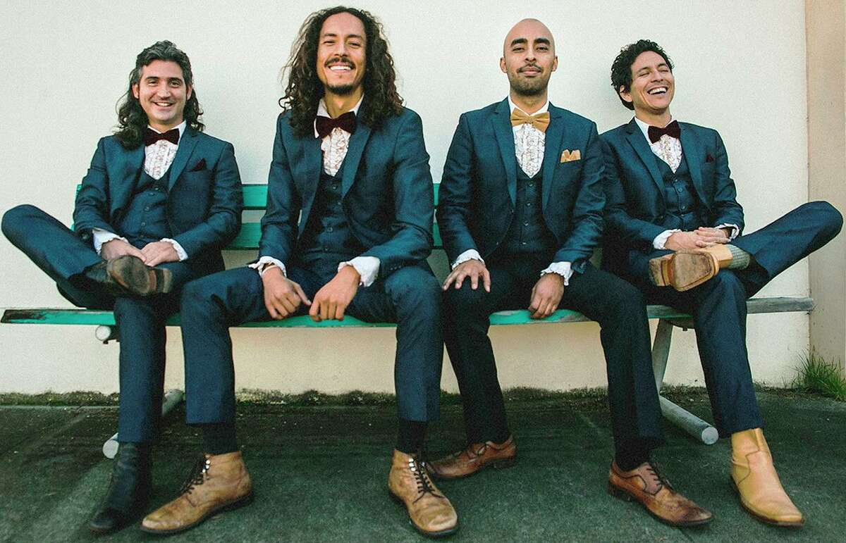 Chicano Batman is a Los Angeles quartet with a sound draws from a broad spectrum of influences ranging from spacey psychedelia, Tropicalia, to slow-jam soul. And in homage to their favorite classic soul groups, onstage they wear tailored suits with ruffled-tuxedo shirts from a thrift store near you.
