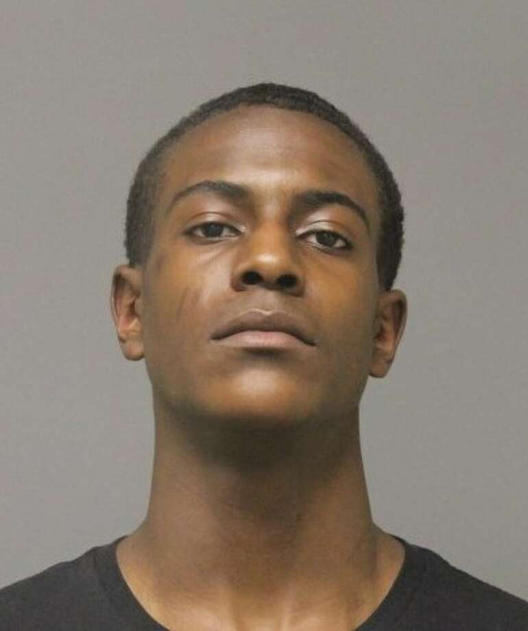 Anthony Abrahams, 18, of Morton St., Danbury, was charged with evading responsibility and interfering with an officer in Brookfield. Photo: Contributed / Brookfield Police Department