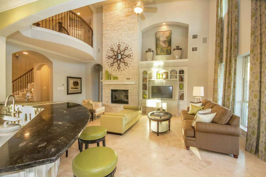 Model Home Foyer Pictures : Cinco ranch opens three model homes as part of 25th anniversary