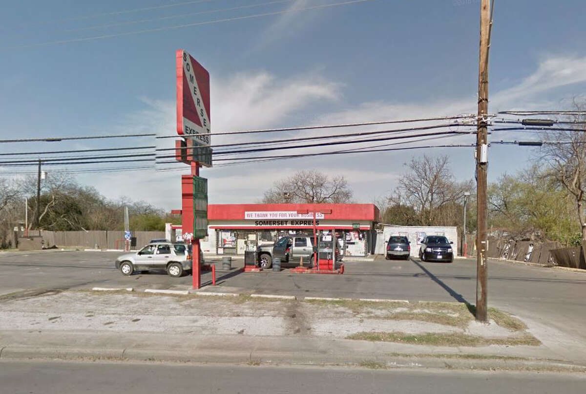 New Somerset Express: 7223 Somerset Road, San Antonio, Texas 78211Date: 04/14/2016 Demerits: 14Highlights: Discontinue selling food items not packaged for individual sale (twinkies, unmarked juice bottles), in-use utensils/wares not clean to sight/touch, most recent inspection report not in public view