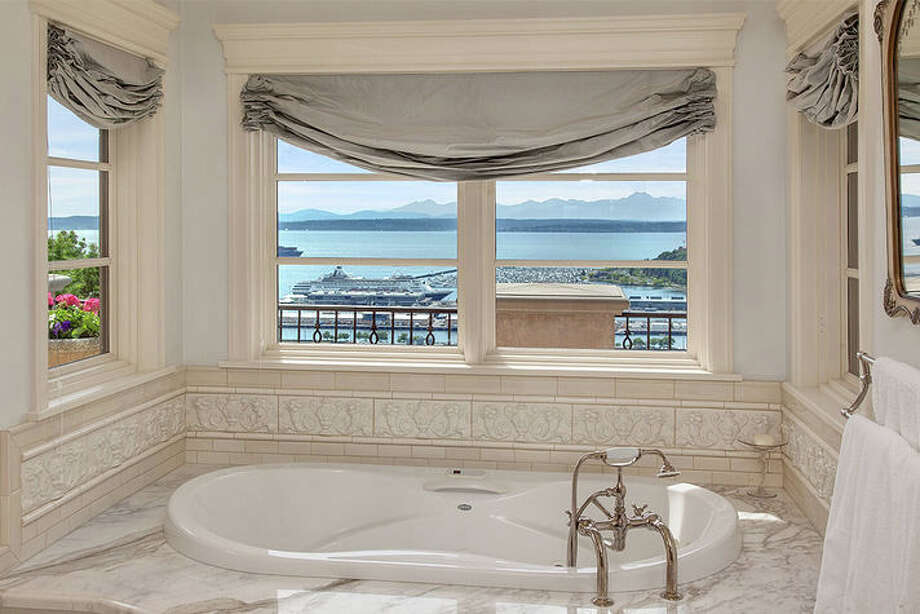 This week we venture to a home on Queen Anne Hill. If views are important, then this house will fill the bill and then some. There's even a view from the tub.  The complete listing is here, Photo: Windermere Real Estate/Scott And Molly Shutes / Other
