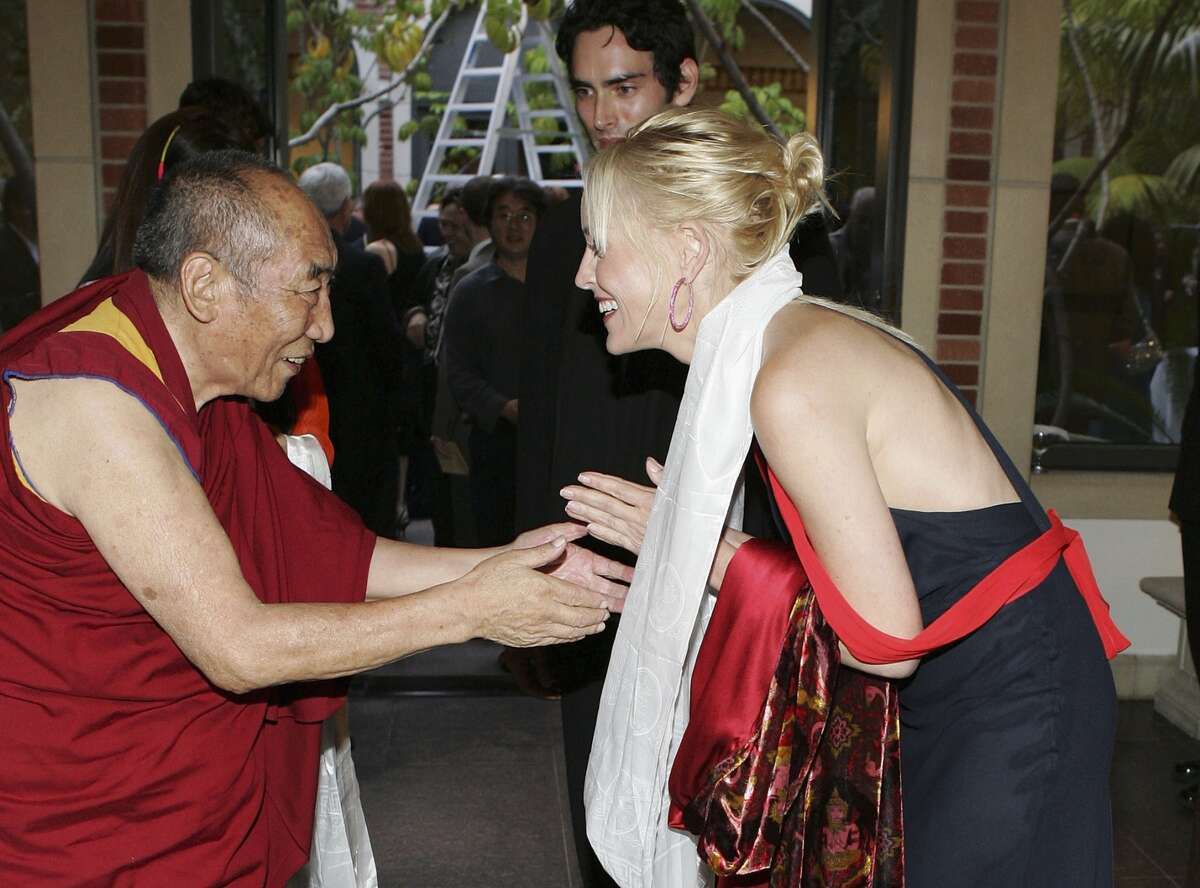 Sharon Stone The actress is a vocal supporter of the Dalai Lama.