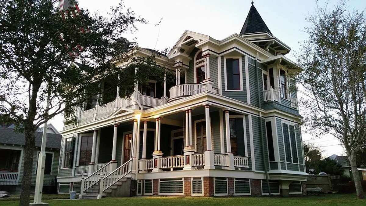 The historic James and Violet Waters house in Galveston, as it looks in 2016. The home, built in 1893, will be the