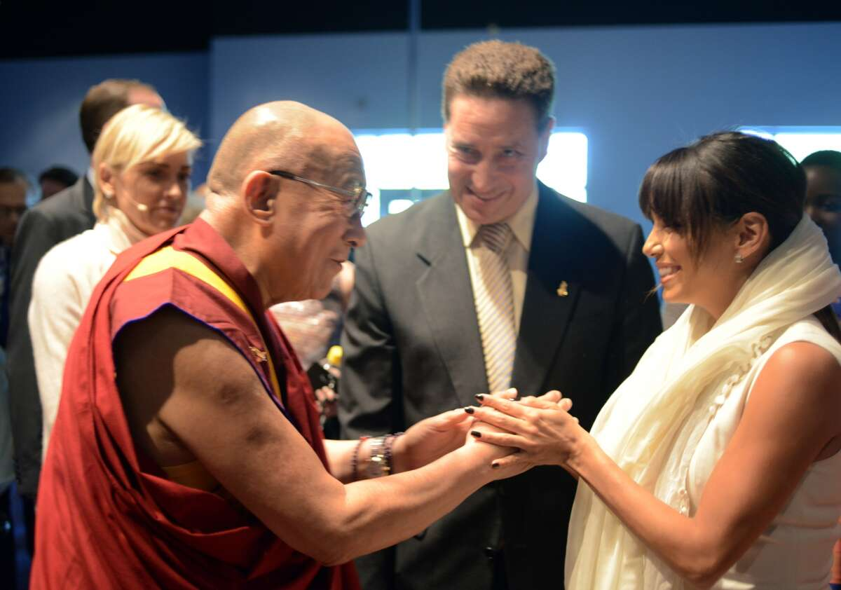 Eva Longoria The actress is part of the Dalai Lama's Hollywood supporters.