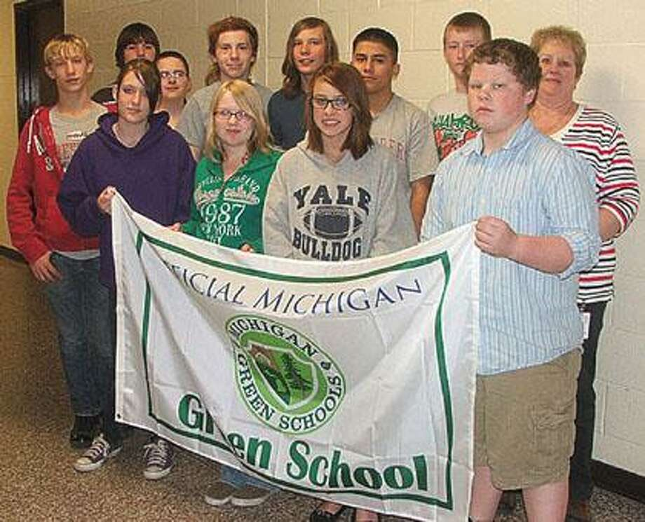 Thanks to the efforts of the students in the new Environmental Studies program, Marlette Jr./Sr. High School has received official recognition from the State of Michigan as a Green School.
