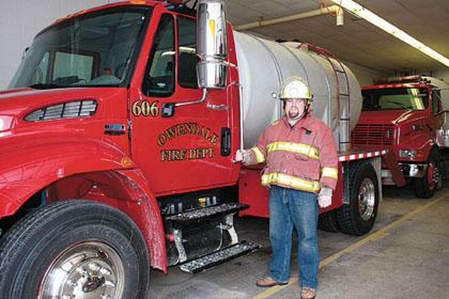 Matt Roemer is Owendale's new fire chief.
