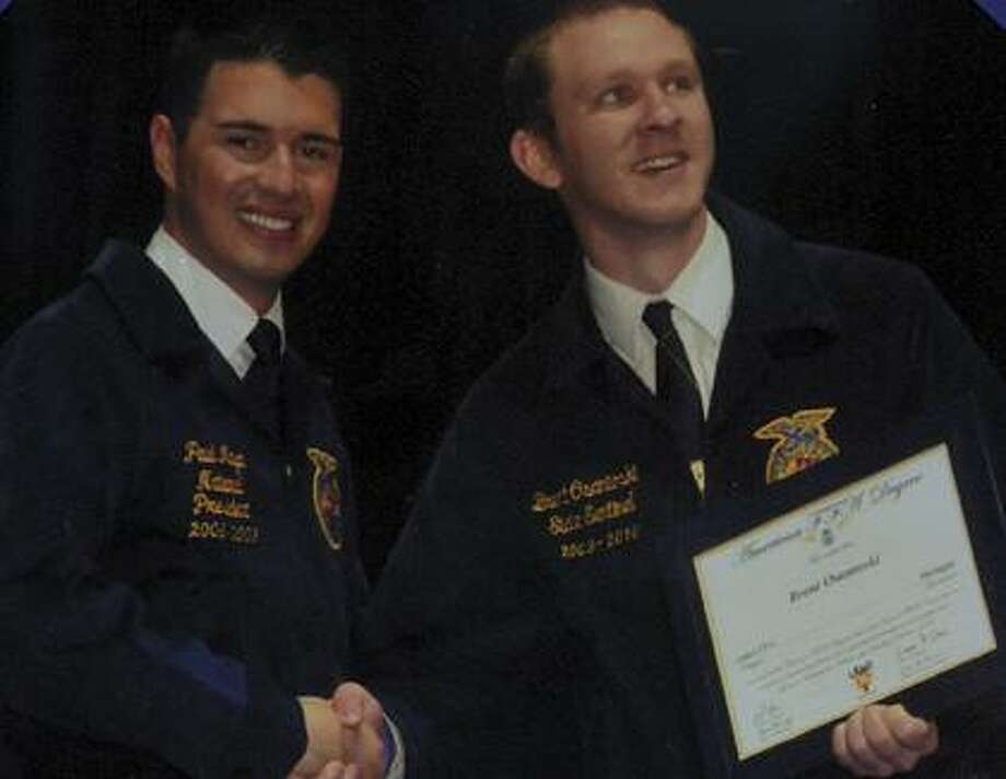 Local teens earn FFA's highest honor