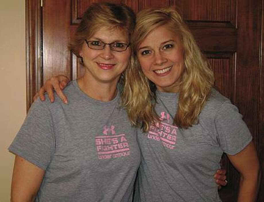 Della Wolschleger, left, and her daughter, Tina Miller.