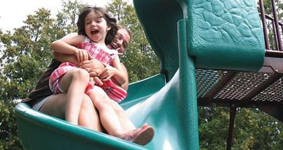 Raynee Richards of Mt. Pleasant enjoys the BA City Park.