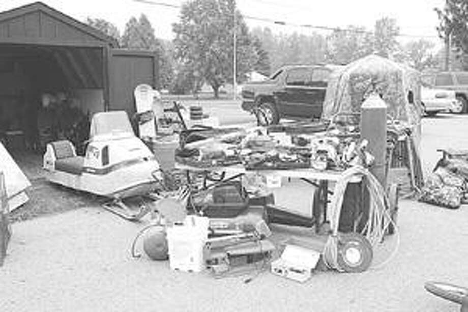 The Michigan State Police from the Bad Axe post are working to identify the owners of these items recovered from a shed in the Elkton area recently.