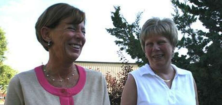 Ruth MacAlpine (right) and her sister, Joyce Deering (left), were both diagnosed with breast cancer within two months of each other five years ago.