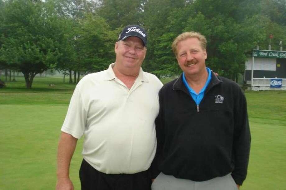Dave Davert and Mike Davert were shootout winners at the Bird Creek Men's Invitational.