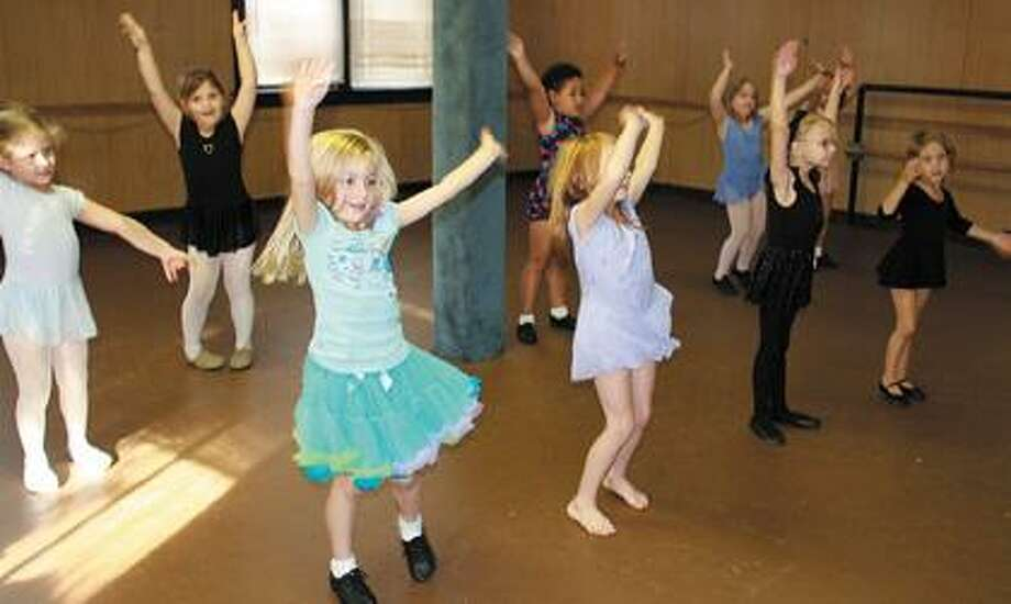 Students at Sherry's Dance Studio & Gymnastics.
