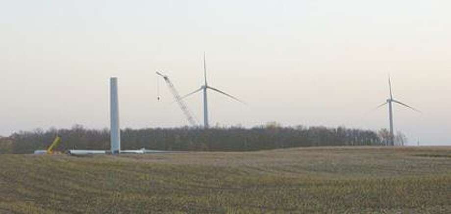 Photos courtesy of Josh Lucas of WindConnect Those traveling near the Michigan Thumb Windpark in the Ubly area may have noticed some movement lately, as officials report test spins are underway for the 46 turbines. The turbines are expected to go online by year end.