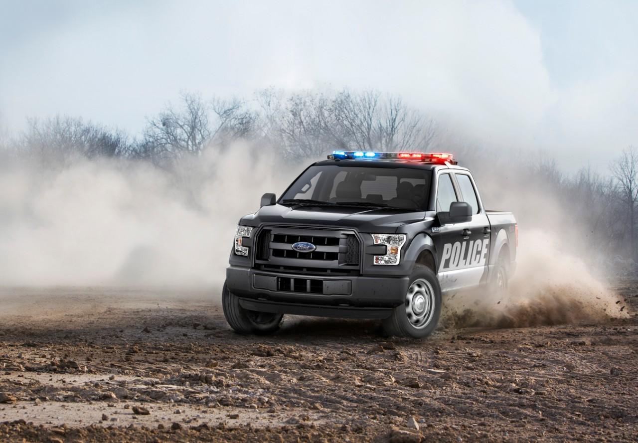 Ford unveils law enforcement version of F-150