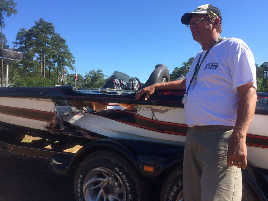 three uninjured as two boats crash during big bass splash beaumont enterprise