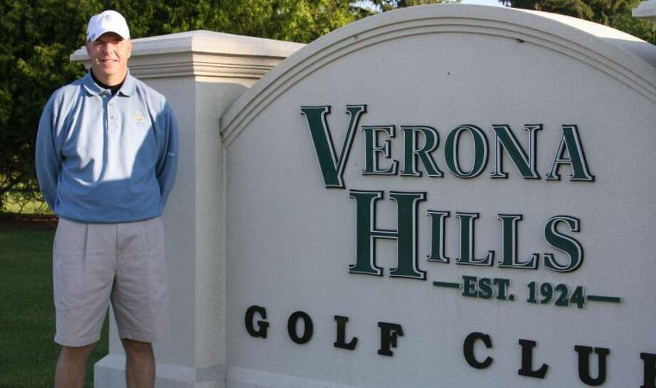 Terry Ernst is celebrating 25 years as PGA professional at Verona Hills Golf Club in Bad Axe. The club's membership is hosting a scramble and party this afternoon in Ernst's honor.