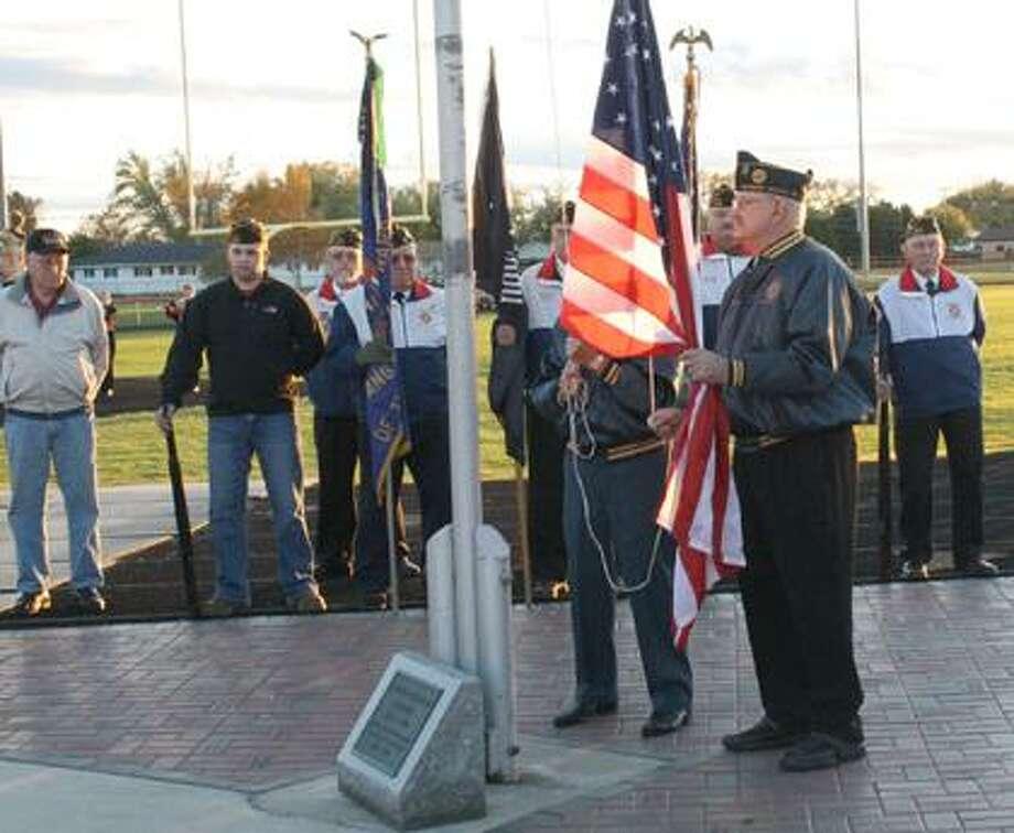 Harbor Beach vets memorial dedicated