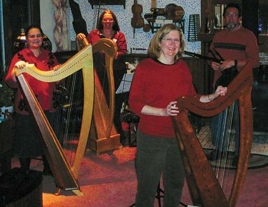 Pictured are members of the Thumbs Up Harp Circle.