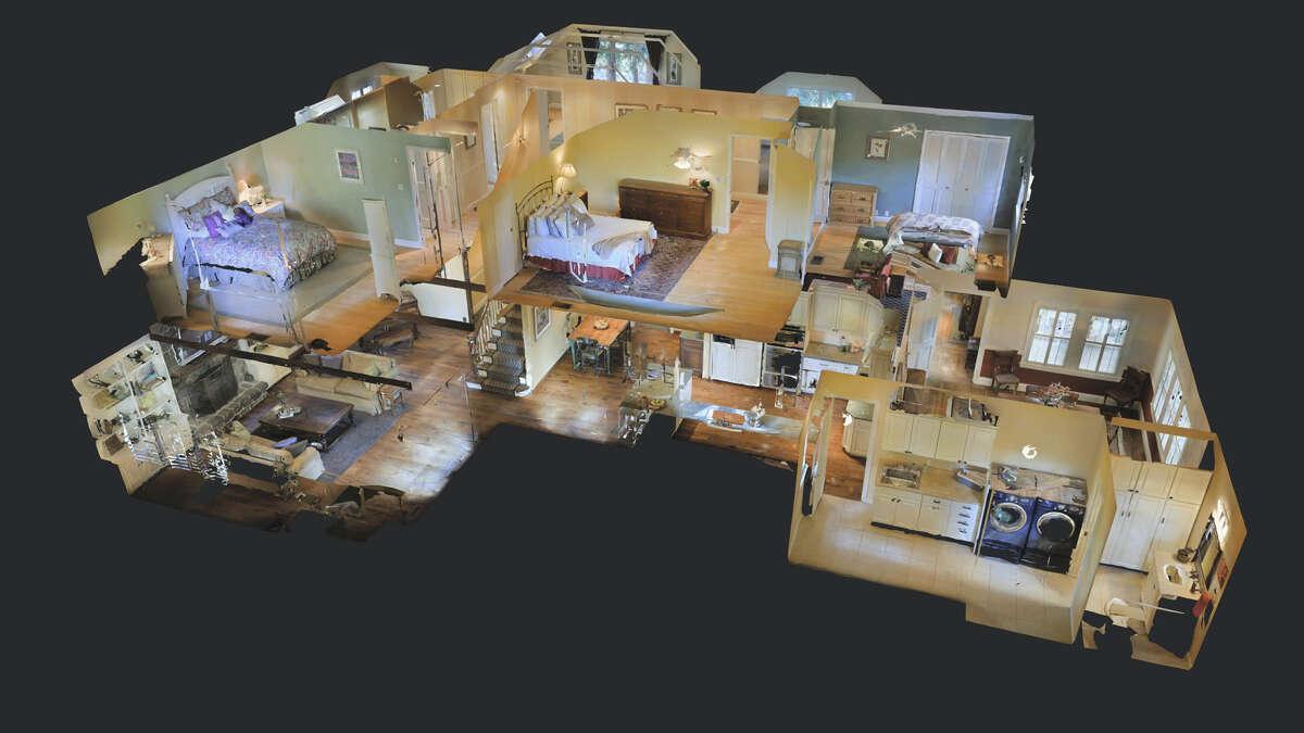 3D modeling technology brings the user inside the home.