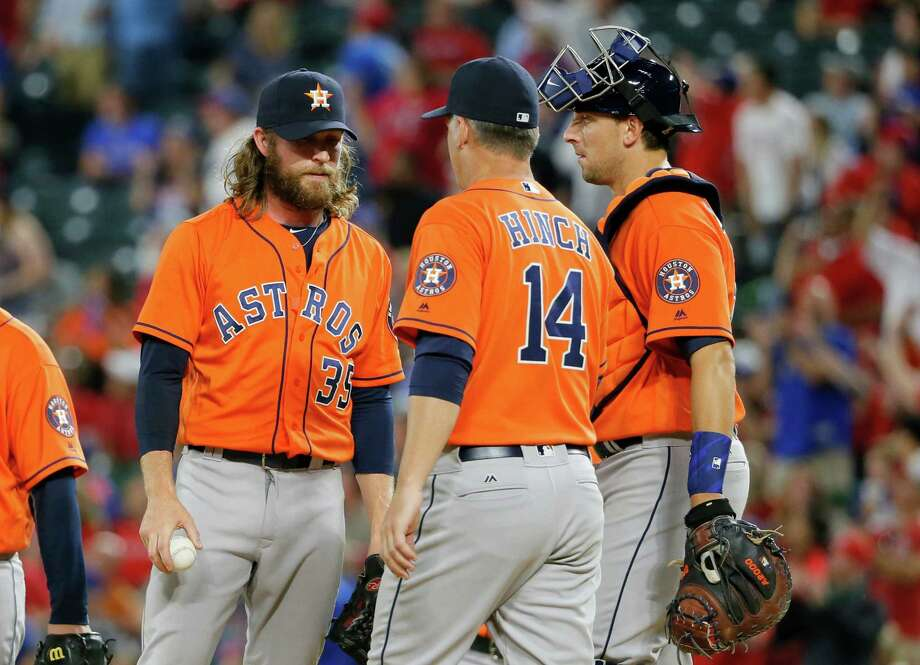 Whether it's luck, circumstances or whatever else you want to call it, the Rangers have the Astros' number when they meet in Arlington. Thursday's loss was the Astros' 10th straight to their in-state rivals at Globe Life Park dating back to August.Since sweeping a series in July 2014, the Astros have lost 14 of 16 games in Arlington. A sweep in September dropped the Astros out of first place in the division and the Rangers - the eventual champs - never looked back.They'll meet again there in July for four games. Photo: Tony Gutierrez, Associated Press / AP