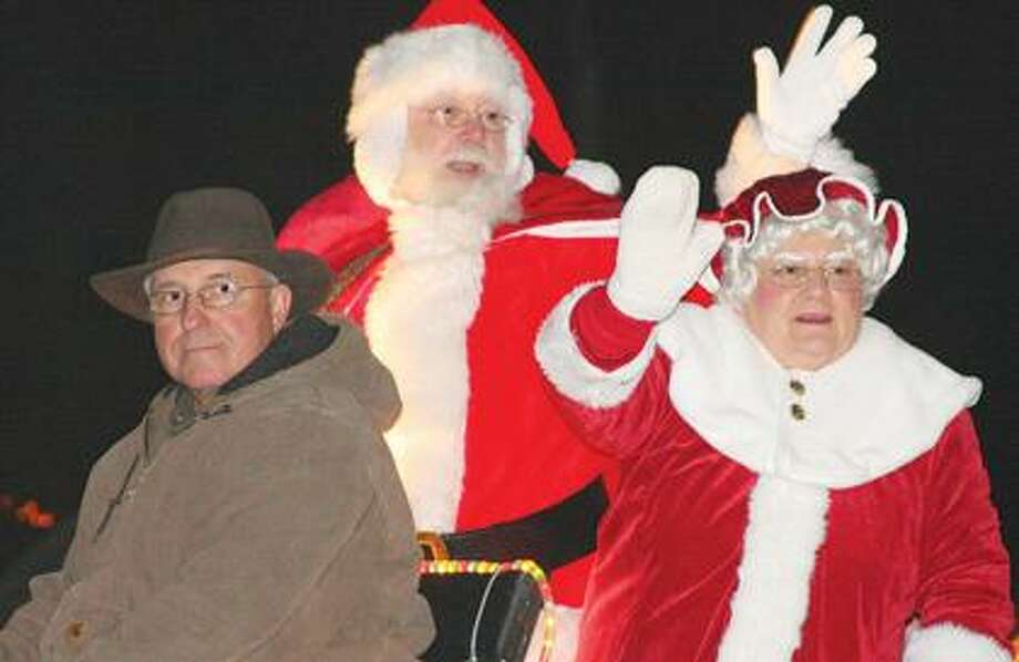 Santa and Mrs. Claus concluded the parade.