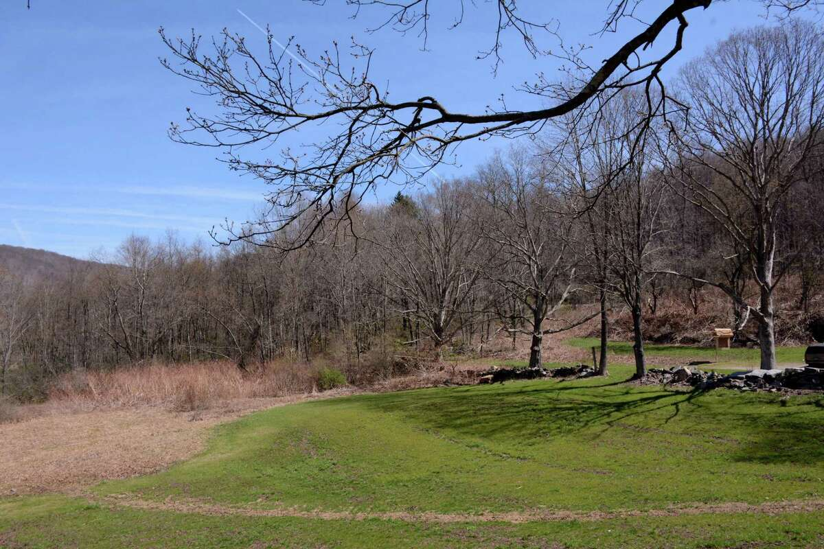 Local developer and philanthropist Gary Goldring from Sherman recently bought the Great Hollow property in New Fairfeild. Goldring is turning it into a nature preserve and family nature center. Thursday April 20,2016.