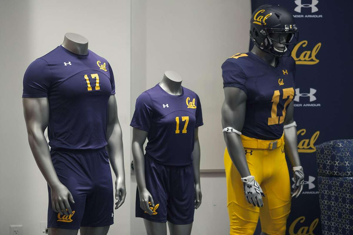 Mannequins displaying UC Berkeley