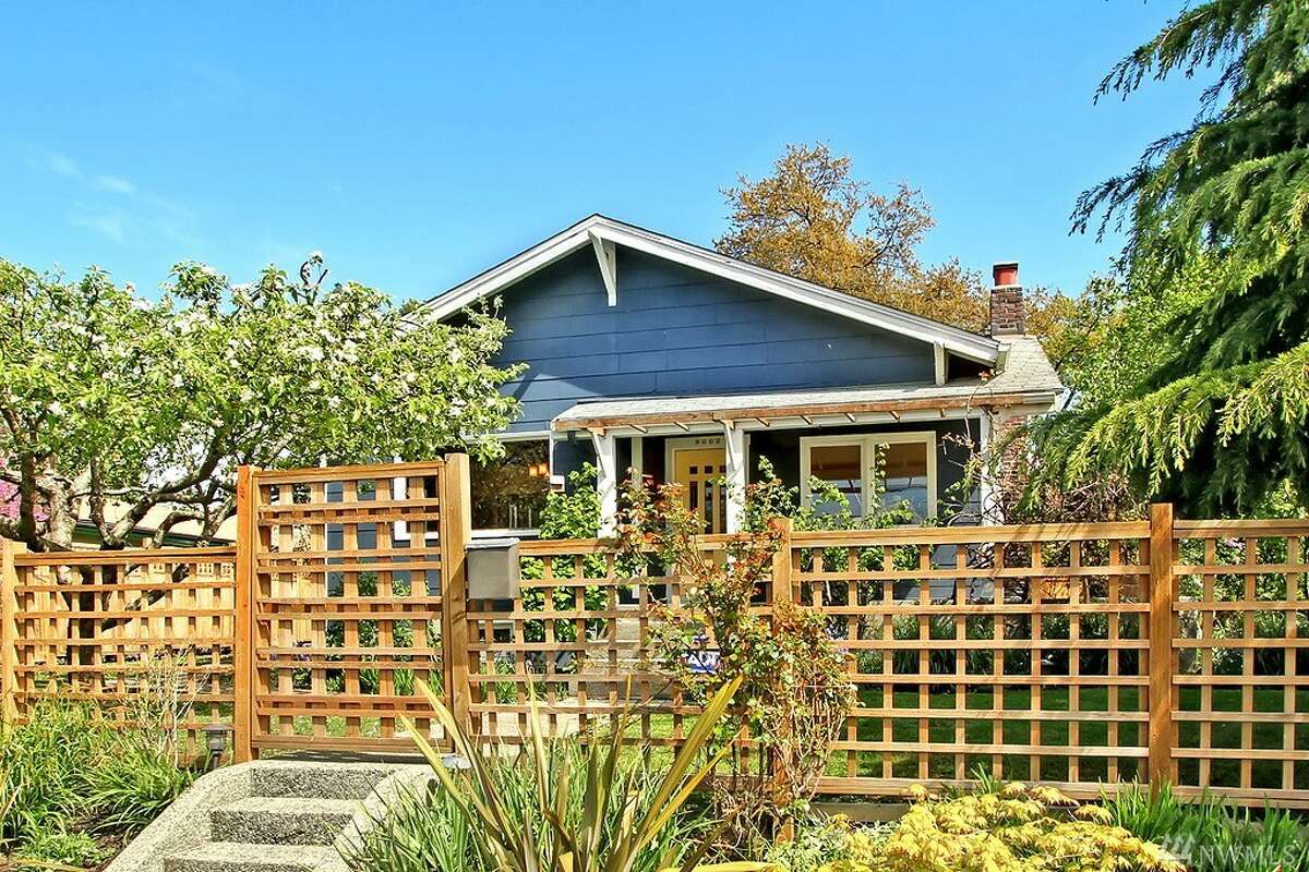 The first home, at 8602 Wabash Ave. S., is listed for $459,950. The three-bedroom, one-bathroom home is in the Rainier Beach neighborhood. It has a fully fenced yard. There will be a showing for this home on Saturday, April 23 and Sunday, April 24 from 1 p.m. to 4 p.m. You can see the full listing here.