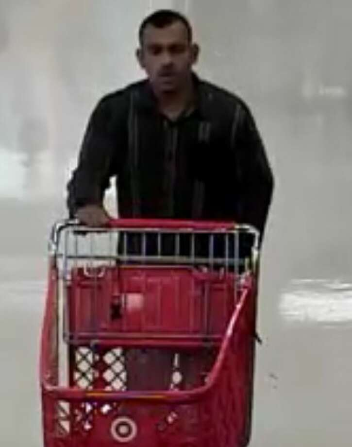The man seen here is wanted for allegedly robbing a Target on the Southeast Side of San Antonio. Photo: Courtesy/San Antonio Police Department