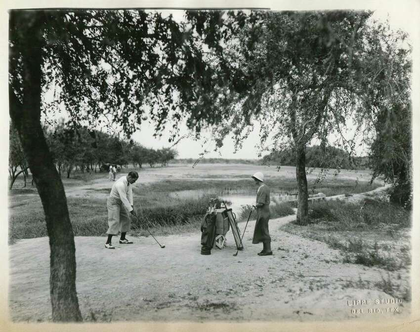TheSan Felipe Springshelped to draw tourism with lush amenities like this 9-hole golf course and country club gave a nod to the city's namesake.