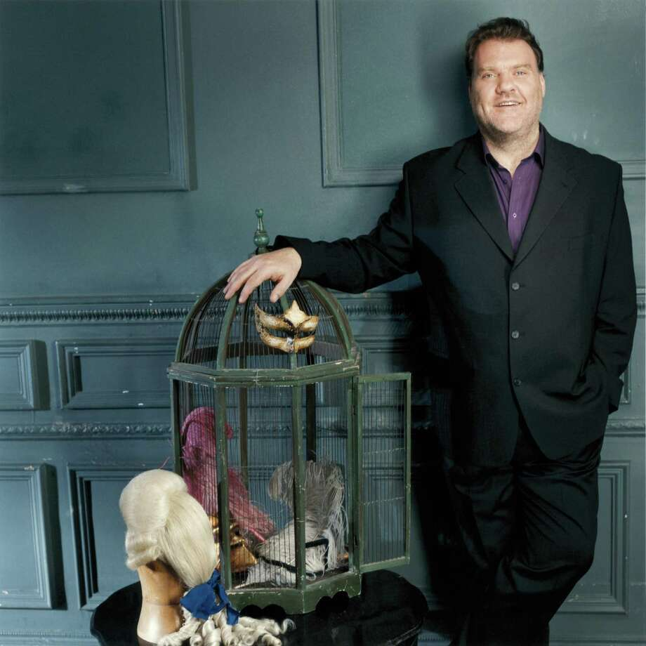 Bryn Terfel is a farmer's son from a remote Welsh village who scaled the heights of the opera world. He will appear in Houston Tuesday. Photo: Sheila Rock