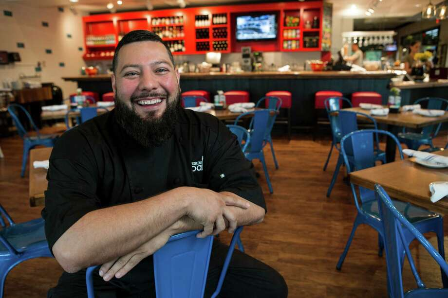 Pablo Gomez, corporate chef Hospitality USA, poses for a portrait at Restless Palate on Wednesday, April 6, 2016, in Houston. ( Brett Coomer / Houston Chronicle ) Photo: Brett Coomer, Staff / © 2016 Houston Chronicle