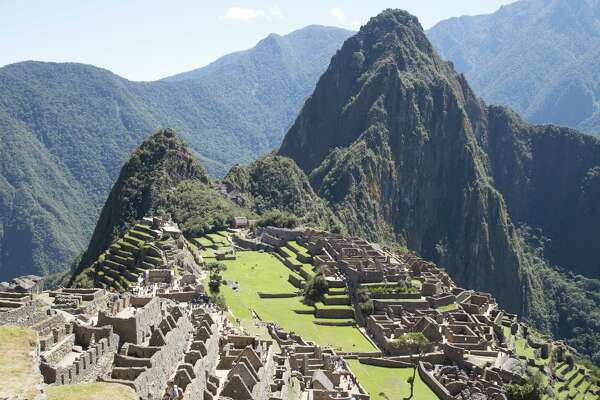 Machu Picchu is the destination of a seven-day, six-night trek on the Salkantay Trail.