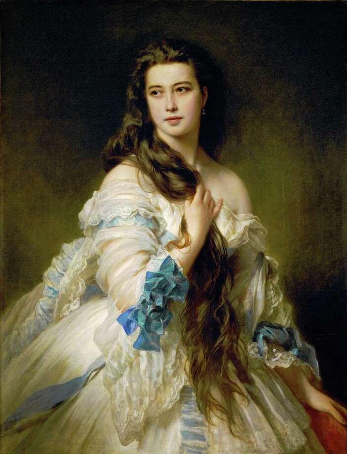 Portrait of Mme. Rimsky-Korsakov, 1864 Canvas, 117 x 90 cm R.F. 235 Photo: (c) Photograph By Erich Lessing / Erich Lessing Culture and Fine A