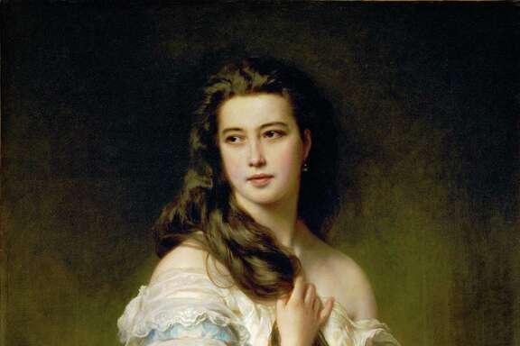 Portrait of Mme. Rimsky-Korsakov, 1864 Canvas, 117 x 90 cm R.F. 235