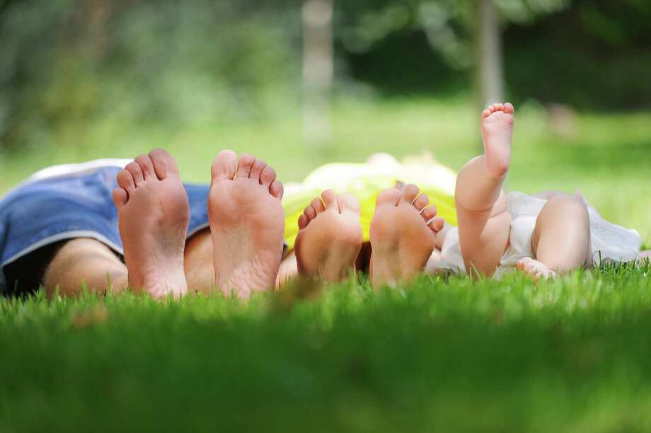 All babies are born with flat feet. Arches develop around preschool age. (Fotolia) Photo: Fotolia, HO / Newsday
