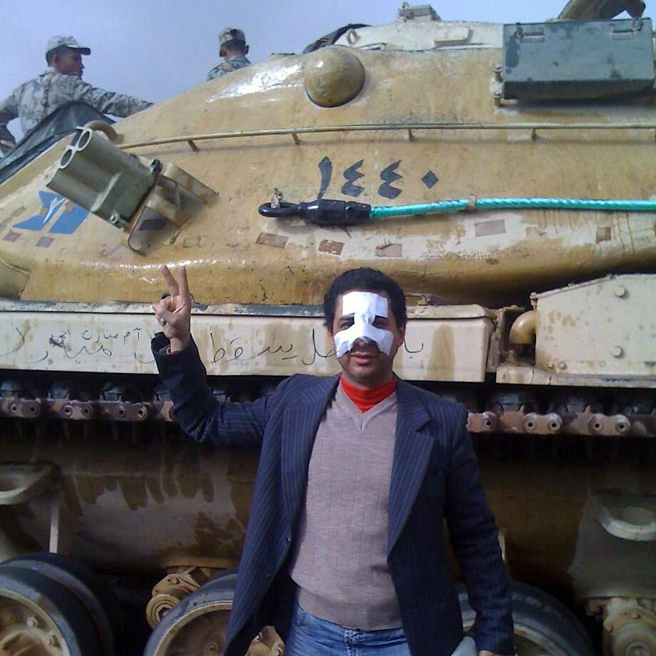 Egyptian activist Ahmed Salah was in Cairo's Tahrir Square during the country's 2011 revolution. Photo: Handout, Courtesy Ahmed Salah