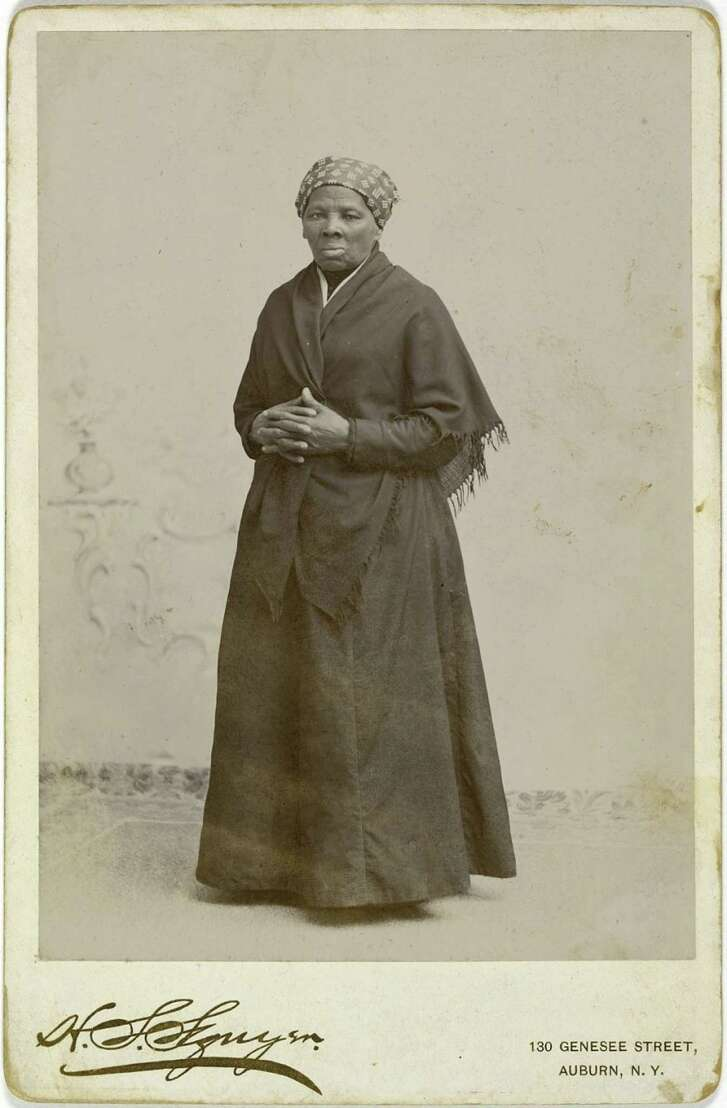 An 1885 photo of Harriet Tubman by H. Seymour Squyer. MUST CREDIT: National Portrait Gallery, Smithsonian Institution
