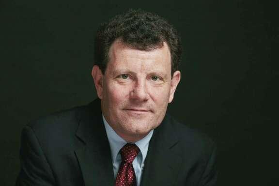Nicholas D. Kristof (CREDIT: Damon Winter/The New York Times)