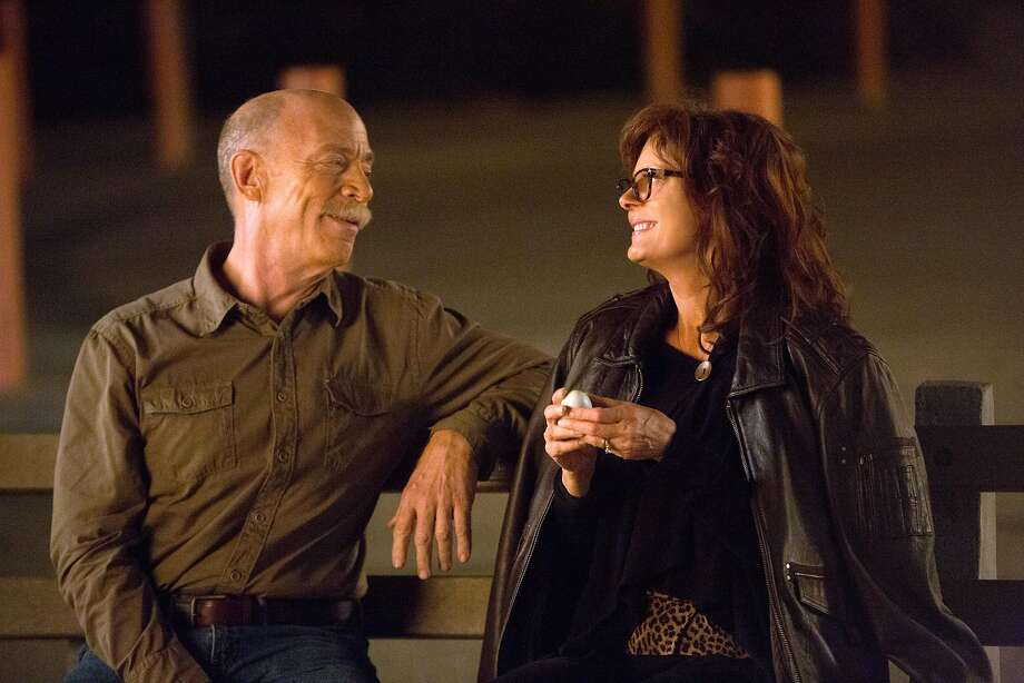 "This image released by Sony Pictures Classics shows J.K. Simmons, left, and Susan Sarandon in a scene from ""The Meddler."" (Jaimie Trueblood/Sony Pictures Classics via AP) Photo: Jaimie Trueblood, Associated Press"