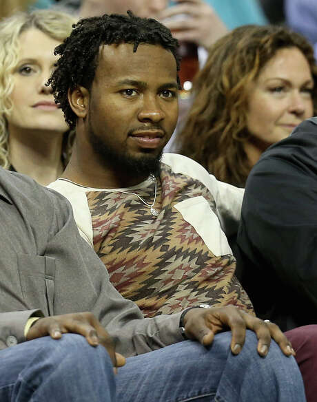 CHARLOTTE, NC - MARCH 04:  Josh Norman of the Carolina Panthers watches on during their game between the Indiana Pacers and Charlotte Hornets at Time Warner Cable Arena on March 4, 2016 in Charlotte, North Carolina. NOTE TO USER: User expressly acknowledges and agrees that, by downloading and or using this photograph, User is consenting to the terms and conditions of the Getty Images License Agreement.  (Photo by Streeter Lecka/Getty Images) Photo: Streeter Lecka, Staff / 2016 Getty Images