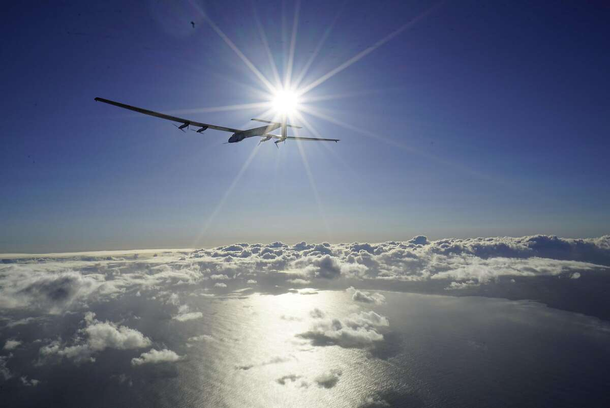 O'AHU, HAWAII - APRIL 21: In this handout image supplied by Solar Impulse 2/GNR,